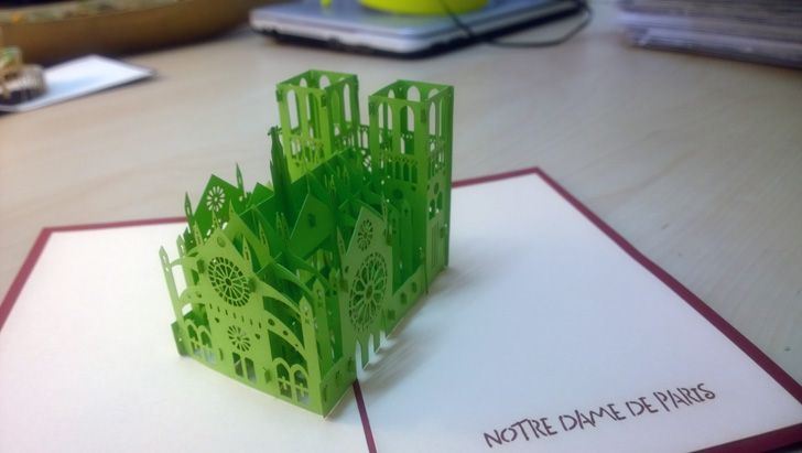 The Perfect Gifts For Architect U0026 Interior Designer   3D Popup Cards