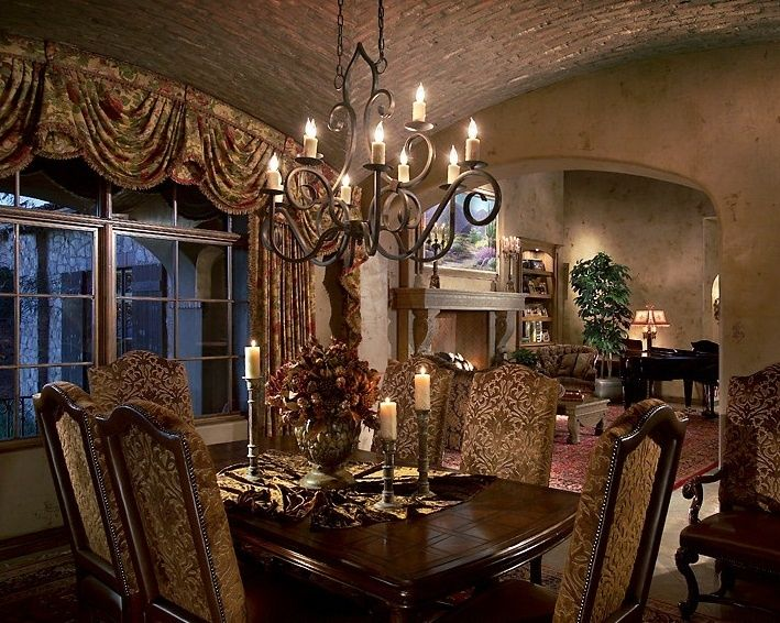 Houzz Tuscan Dining Room
