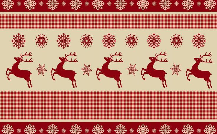 Christmas Pattern Free HD Wallpaper