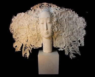 "Saatchi Art Artist Yulia Luchkina; Sculpture, ""Casta Diva 4. (SOLD)"" #art"