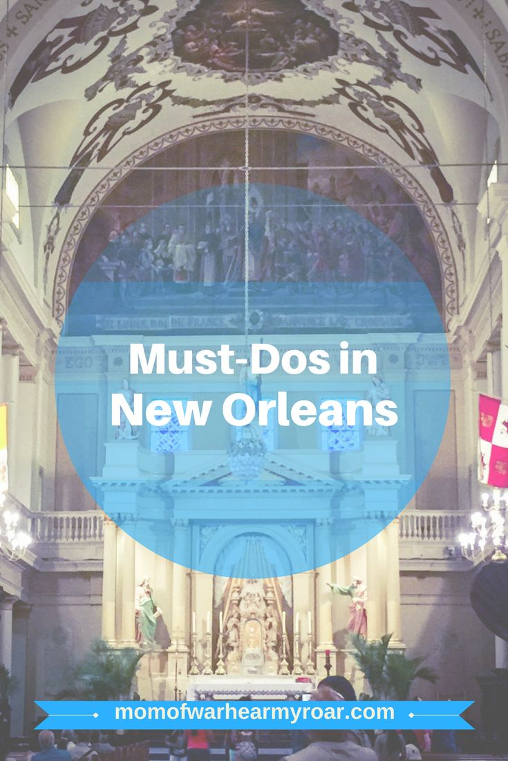 There is something for everyone in New Orleans. Here's a list of some fabulous things to do! #vacation #NewOrleans #CafeduMonde #beignets #Mississippiriver #swamp #alligator #airboat #bourbonstreet