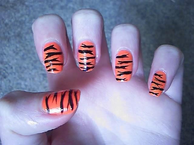 """Tiger""Birthday Oz Ventures, Nails Art, Jungles Fun, Fingernail Art, Abby Favorite, Nails Creations, Tigers Parties, Fingers Nails, Ally'S Parties"