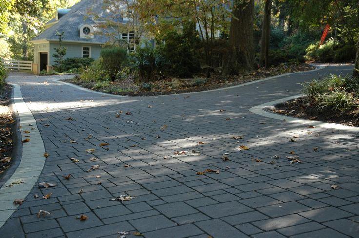Beautiful Stamped Asphalt Driveway Impressions