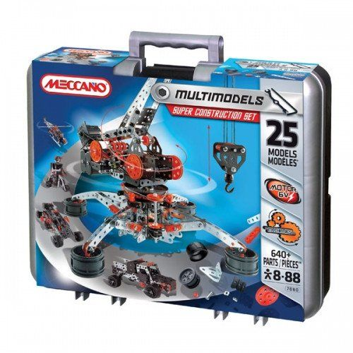 My son wants this set. A great first set MECCANO Super Construction Set  #toys2learn #construction #meccano #earlylearning