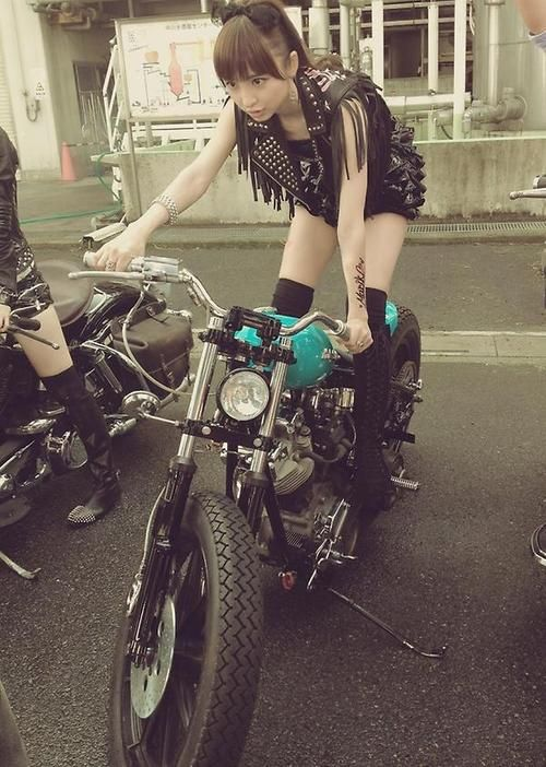 """""""Trouble is .. so many American bikers don't know the difference between Shinoda and Shine-Oil."""""""