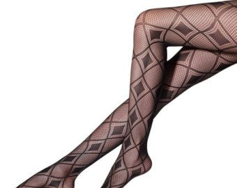 Black Diamond Stockings, sexy Net Tights, Nylon Pantyhose