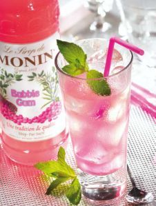 Monin Bubblegum Syrup - Princess Bubblegum cocktail?
