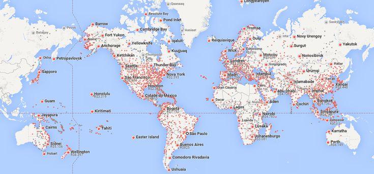 Consiga os voos mais baratos na versão brasileira do Google Flights, serviço que promete te ajudar em sua próxima viagem