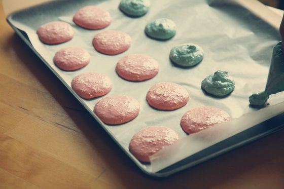 THE macaroon recipe used at my birthday party!  This stuff was amazing!