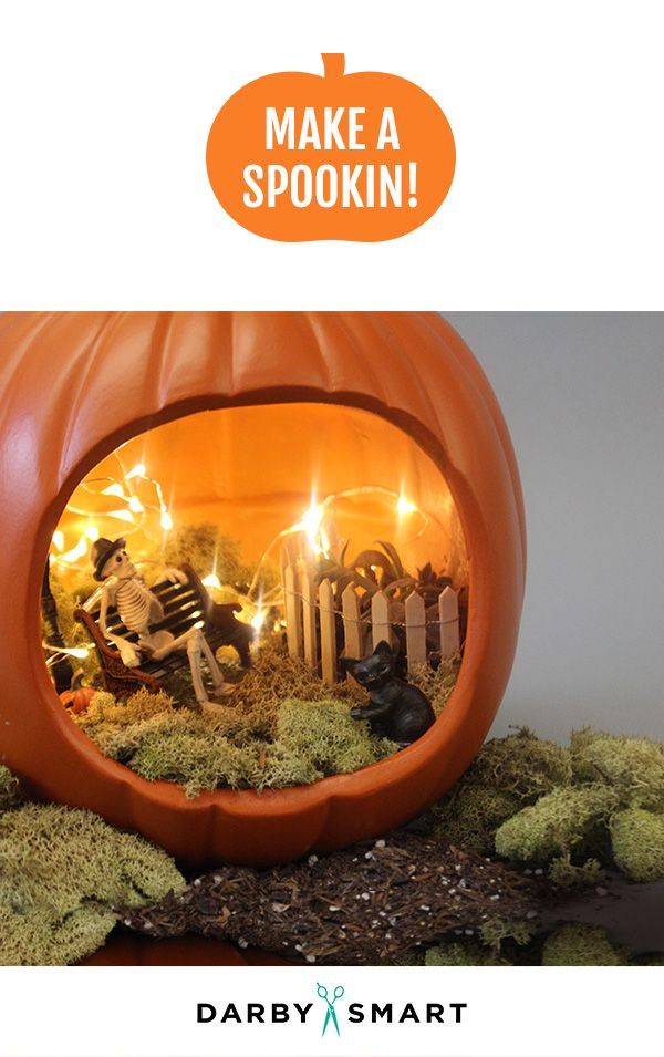 easy no carve pumpkins that make the best halloween decorations - Coolest Halloween Decorations