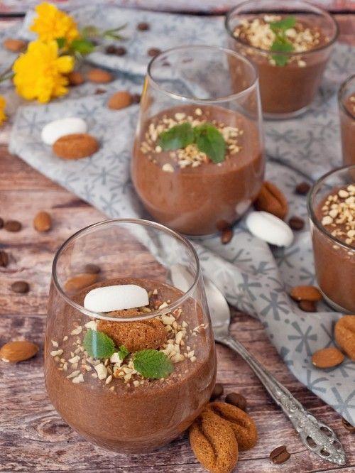 Kávés csokoládémousse recept
