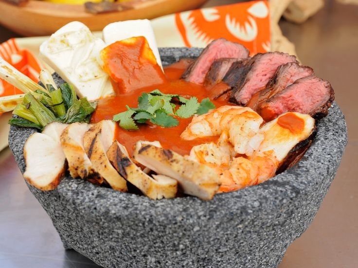 Spicy Surf-and-Turf Recipe : Marcela Valladolid : Food Network - FoodNetwork.com