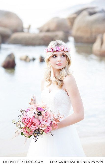 Boho Florals | Tips & Advice | Flowers by Green Goddess Flower Studio | Hair & Make-up by  Yolanda Viljoen | Dresses & Veils by The Wedding Boutique | Photography by Katherine Newman