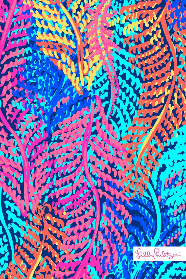 Lilly Pulitzer Electric Feel iPhone wallpaper