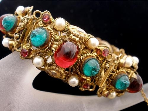 Emerald Art Glass 83 best jewelry - costume - czech images on pinterest | vintage