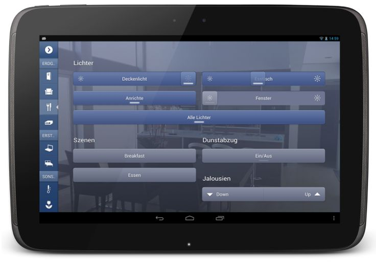 ayControl KNX (Android) - Blinds Control