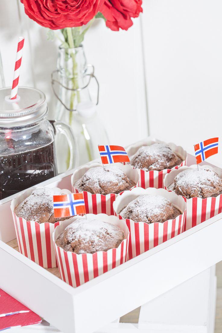 Cupcakeformer 24 pk røde striper | Kremmerhuset  #Kremmerhuset #Interior #Inspiration