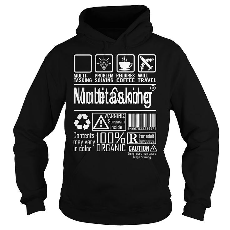 Number Cruncher Multitasking Job Title TShirt