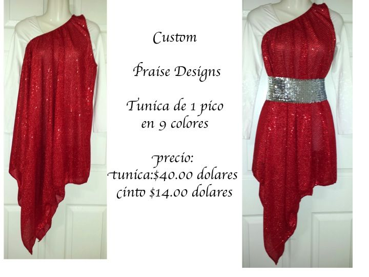 beautiful tunic available in 9 colors in child and adult size.