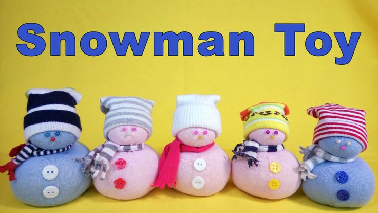 How to make Snowman Toy