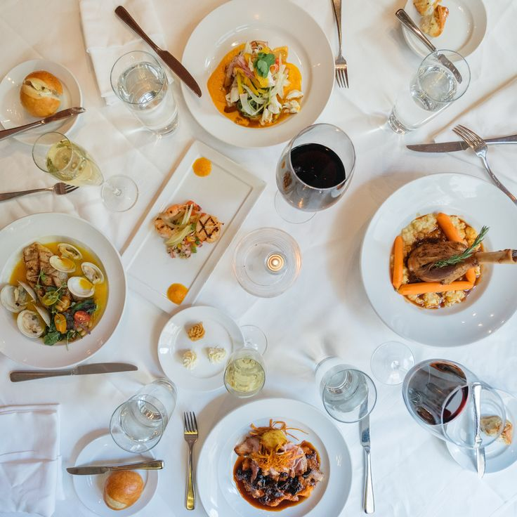 Dinner is much more fun in the heart of the French Quarter.