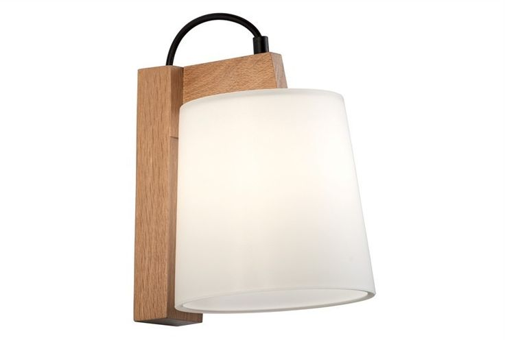 WOODEN WALL LAMP WITH WOOD