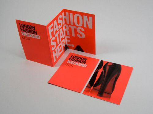 #trifold #brochure #fashion