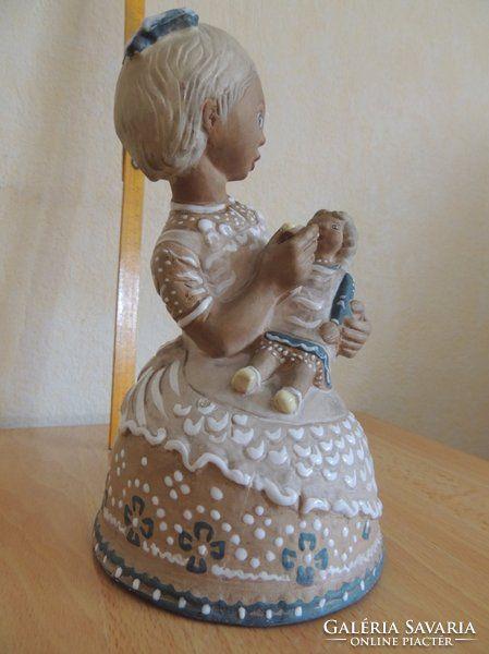 Kovács Margit Lány babával