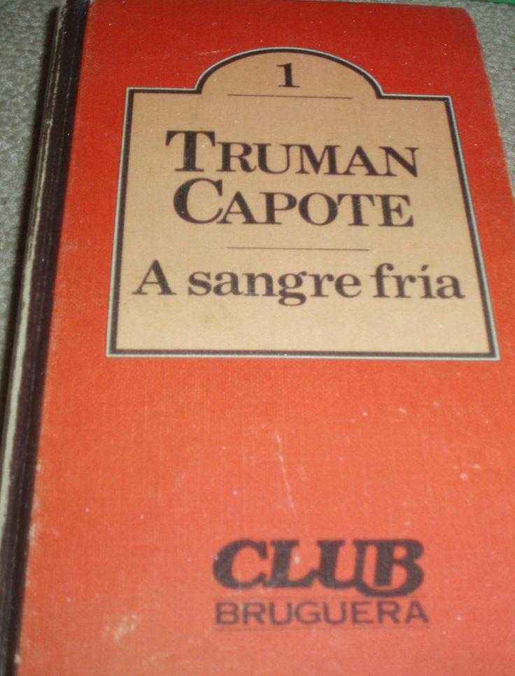 Libro  A SANGRE FRÍA (Truman Capote)
