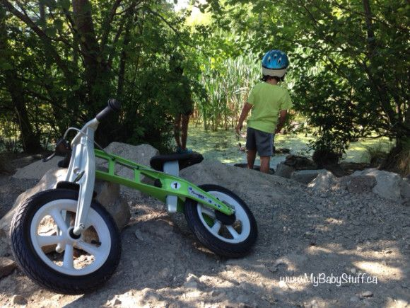 This balance bike is like no other on the market! Find out more about FirstBIKE on the blog now + enter to WIN one!