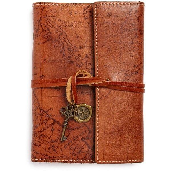 Patricia Nash 'Carmona' Leather Journal found on Polyvore