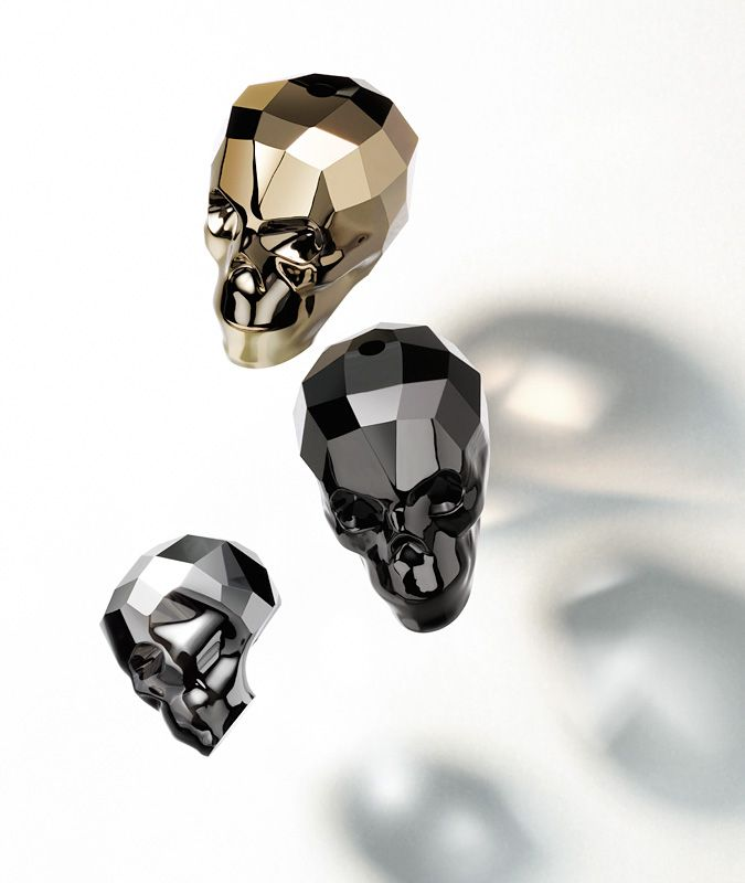The Skull-Bead, a unique masterpiece in crystal design.
