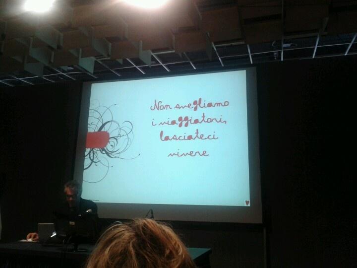 @mafedebaggis parlando di storytelling alla #BTO2012
