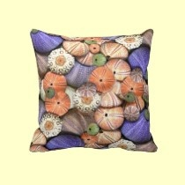 Sea Urchins pillows by seaskys