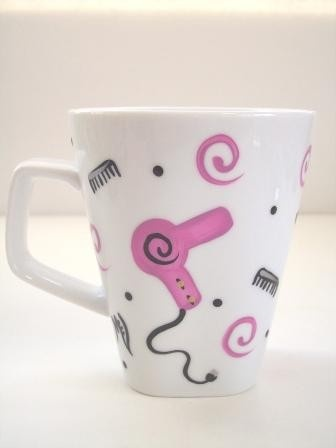 Hairdresser Coffee Mug by Morningglories1 on Etsy, $14.00