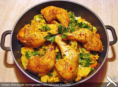 Shirin Pollo - Persischer Berberitzen - Reis mit Huhn oder anderem Geflügel, ein tolles Rezept aus der Kategorie Reis/Getreide. Bewertungen: 24. Durchschnitt: Ø 4,1.