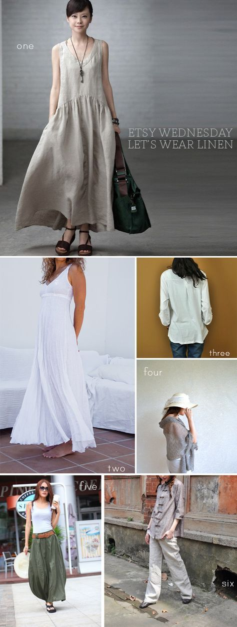 love the drop waist dress in the top photo
