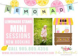 lemonade mini sessions