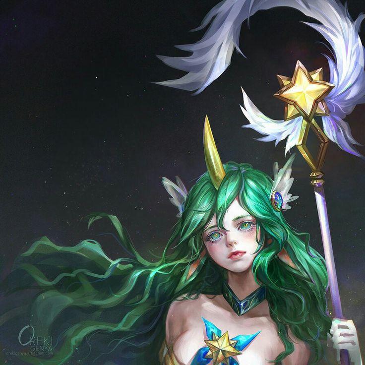 Star Guardian Soraka - League of Legends by OrekiGenya