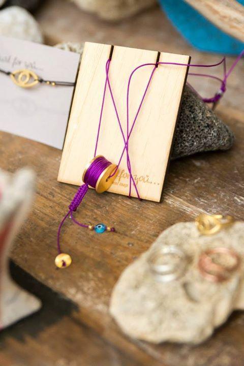 Spool necklace