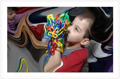 Autism Spectrum Disorder (ASD) / PDD-NOS / SindromeAsperger. Ketidakmampuan anak autistik dalam interaksi dengan orang lain, hambatan dalam berbicara dan berkomunikasi, tingkah laku yang berulang-ulang, gangguan perilaku agresif & hiperaktivitas, kelekatan dengan benda-benda, dan gangguan sensoris. Baca selengkapnya... https://anakabk.wordpress.com/category/asd-pddnos-sindrome-asperger/