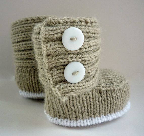 Gorgeous knitted baby boots,  Go To www.likegossip.com to get more Gossip News!