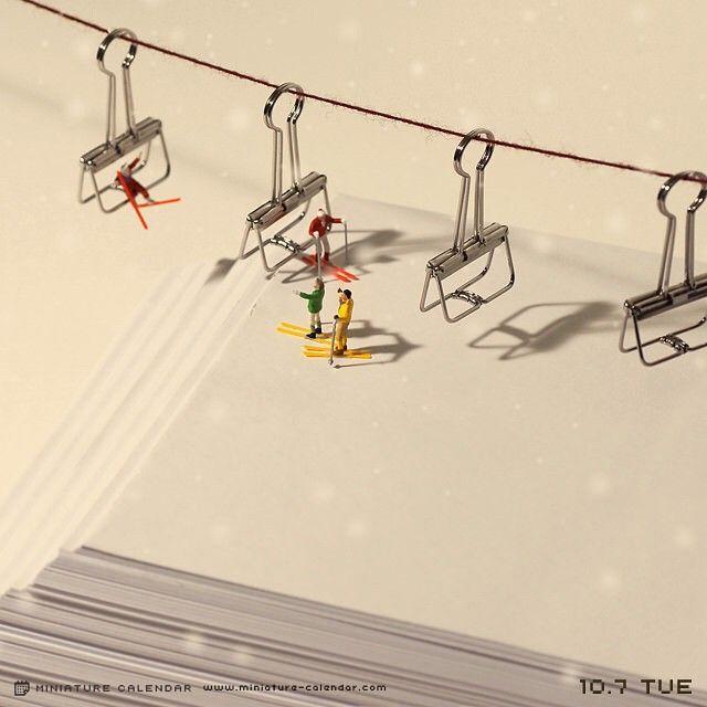 """. 10.7 tue """"Ski lift"""" . 白紙の企画書も真っ白なゲレンデと思えば怖くない(現実逃避) ."""