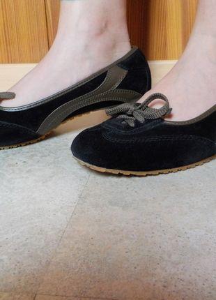 Kaufe meinen Artikel bei #Kleiderkreisel http://www.kleiderkreisel.de/damenschuhe/ballerinas/129769228-dockers-pumps-schwarz-khaki-grun
