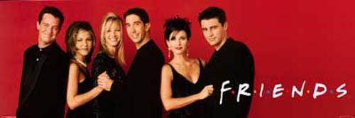A great mini poster of Matthew Perry, Jennifer Aniston, Lisa Kudrow, David Schwimmer, Courtney Cox, and Matt LeBlanc from TV's classic sit-com Friends! Fully licensed. Ships fast. 12x36 inches. Check