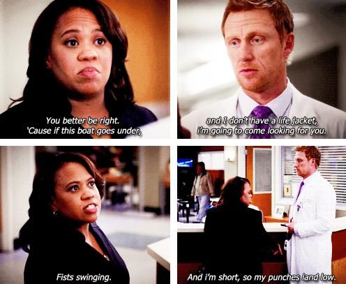 Bailey and Owen - Grey's anatomy quotes