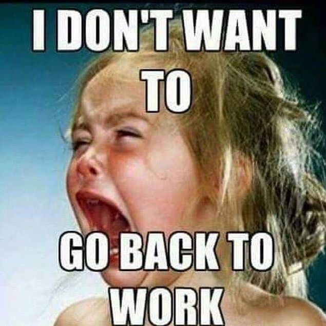 That Feeling After Bank Holiday Weekend Www Affluencebags Co Uk Affluencebags Handbags Accessories Handbaglover Work Quotes Funny Work Humor Funny Quotes