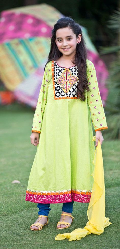 Buy Parrot Green Embroidered Georgette Dress by PakRobe.com Call: (702) 751-3523  Email: Info@PakRobe.com www.pakrobe.com https://www.pakrobe.com/Women/Clothing/Girls-Party-Dresses #GIRLS #PARTY #DRESSES