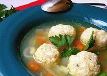 Kuskusové knedlíčky do polévky