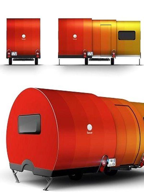 The 3X Camper: The Expandable Caravan